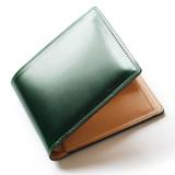 土屋鞄製造所 コードバン 二つ折り財布